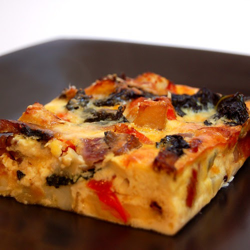 roasted vegetable frittata© by haalo