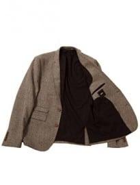Asos Slim Fit Suit Jacket In Houndstooth