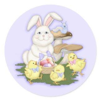 Easter Friends Sticker zazzle_sticker