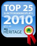 Utmärkelser för bästa genealogisajt