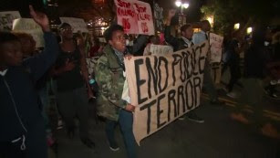 Protests largely peaceful on day 3