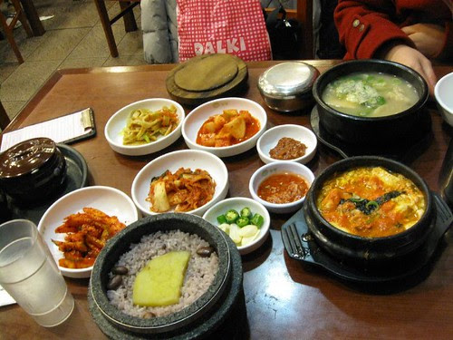 Dinner in Kangnam..