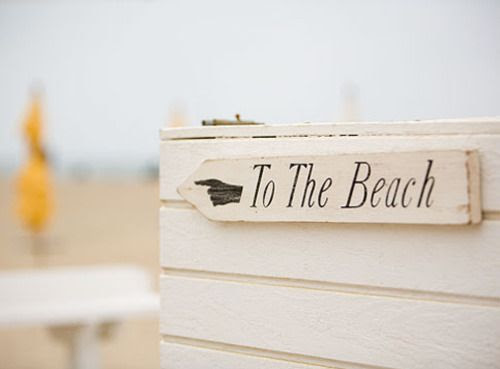 Looking for the beach? It's this way!