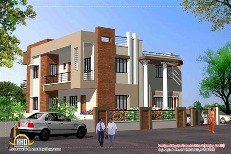 front elevation view home elevation design india