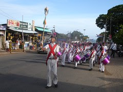 Universal Brotherhood Day Band procession