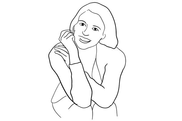 Позирование: позы для женского портрета 1-4