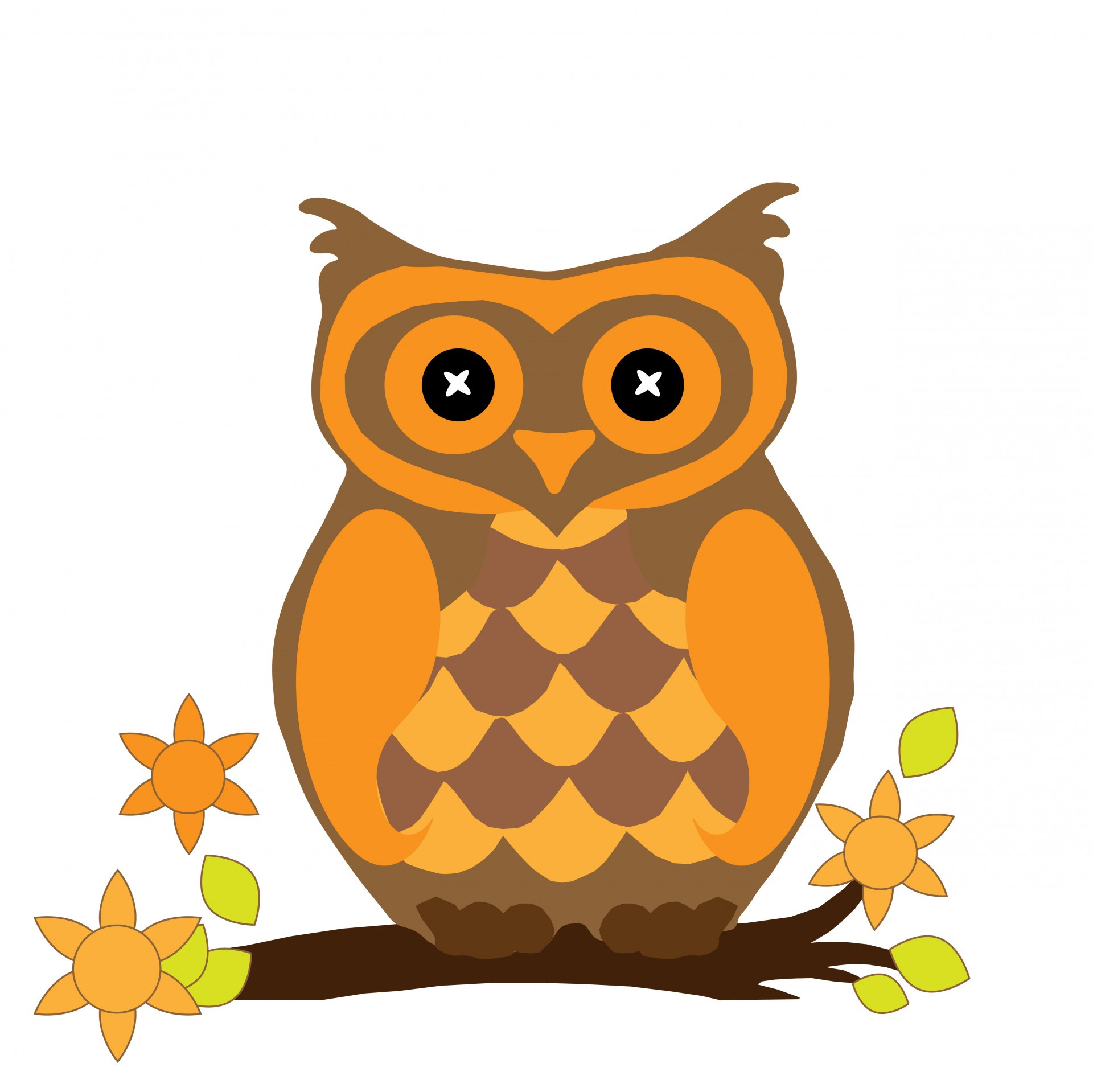 Owl Clipart Free Stock Photo - Public Domain Pictures