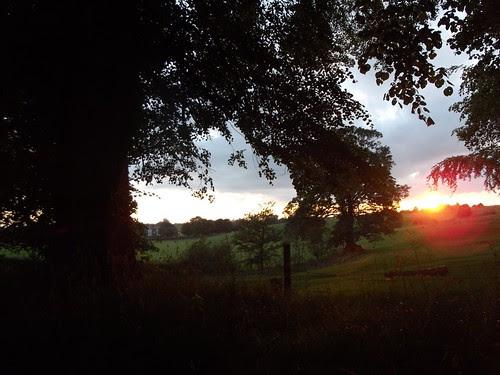 Gawsworth sunset by rajmarshall