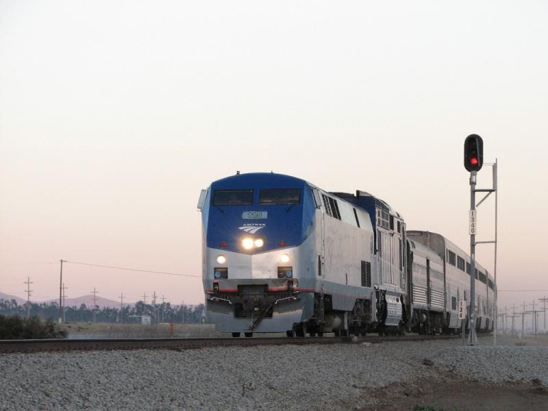 Amtrak in California
