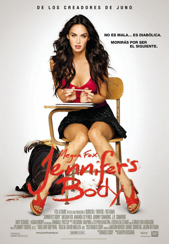 JENNIFER'S BODY poster 3 [click to enlarge]