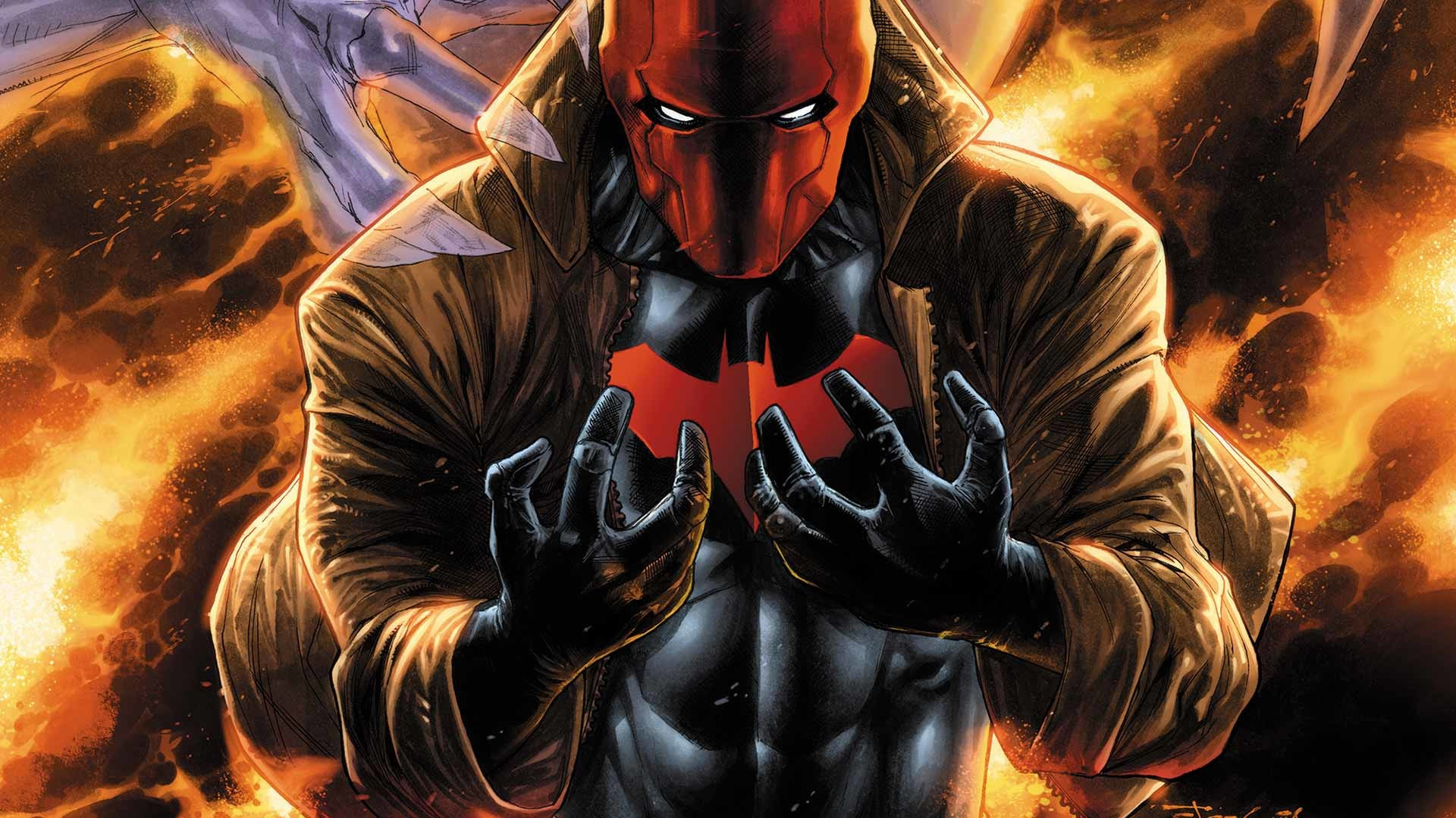 Red Hood Wallpaper Hd 79 Images