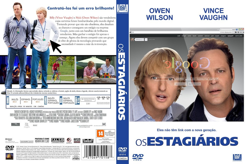 Os Estagiários (The Internship) Torrent - Dublado (2013)