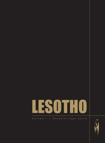 Best Of Lesotho Volume1 By Sven Boermeester Issuu