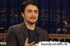 Daniel Radcliffe on Late Night with Conan O'Brien