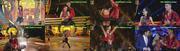 Maite Piragibe sensual a dançar no programa dancing Brasil da TV Record