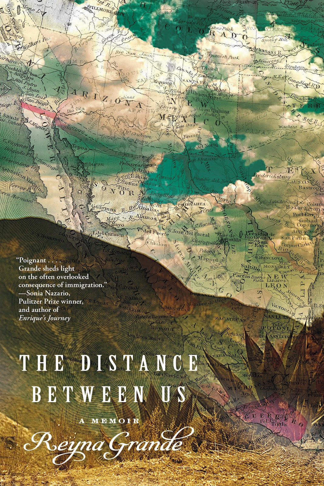 The Distance Between Us A Memoir By Reyna Grande Bookdragon