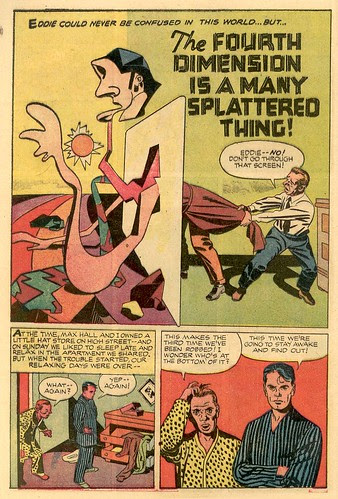 The Fourth Dimension is a Many-Splattered Thing by Jack Kirby