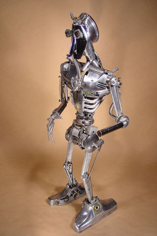 15 Welded Sculptures By Brian Mock Inspirationfeed