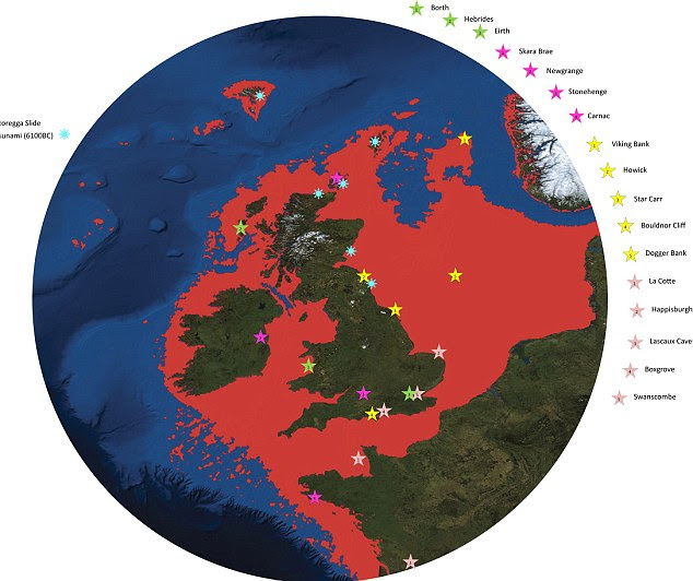 How the North Sea grew and the land-mass shrunk