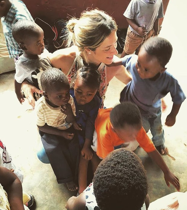Giovanna Ewbank em viagem ao Malawi, na África (Foto: Reprodução/Instagram)