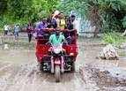Tropical Storm Erika blows through Caribbean