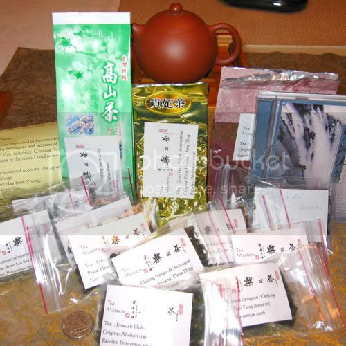Package from Tea Masters