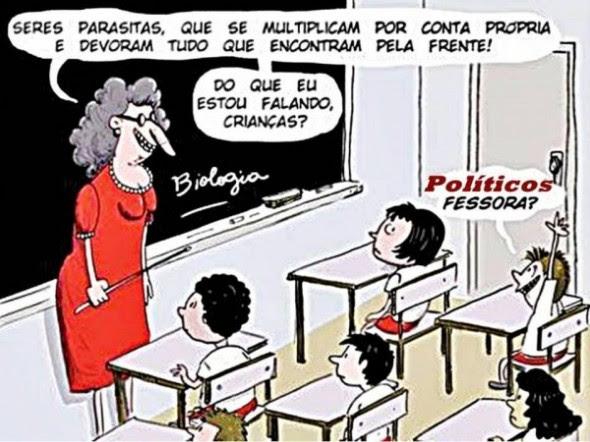 Joãozinho na escola!