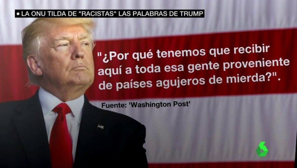 Resultado de imagen para Trump ¿países de mierda?
