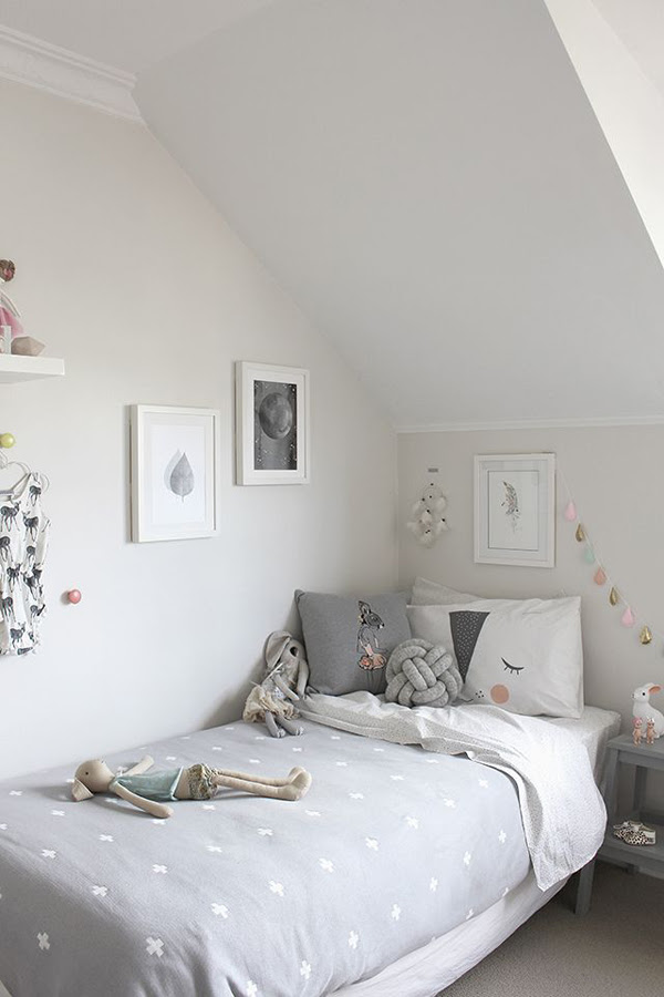 10 White And Simple Kids Room Ideas Homemydesign