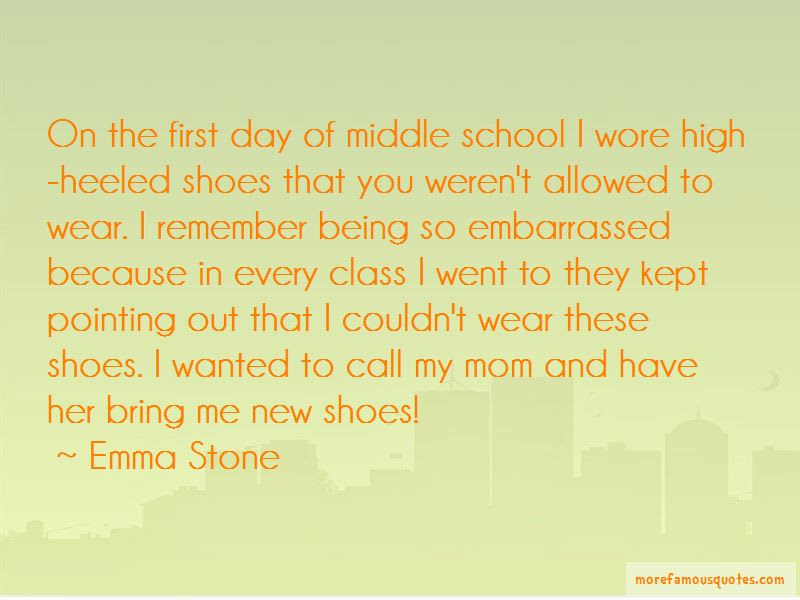 Quotes About First Day Of Middle School Top 2 First Day Of Middle