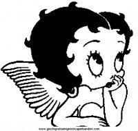 Disegni Da Colorare Betty Boop Clip Art Betty Boop Canzoni Betty Boop