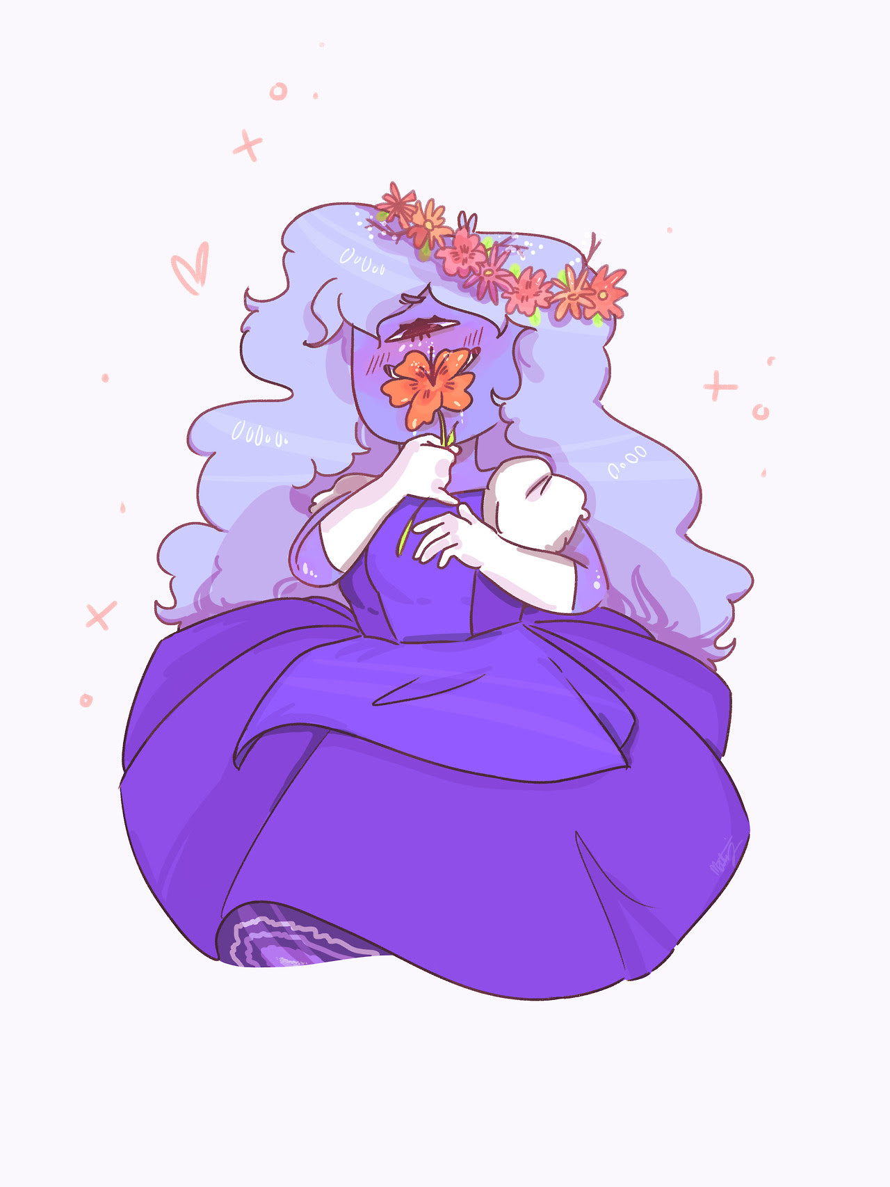 every sapphire I draw is completely different from the last