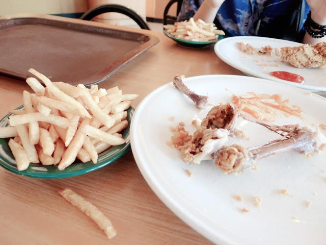 bintan ramayana mall food