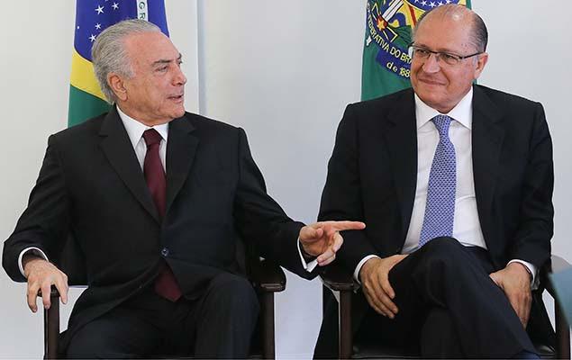 Resultado de imagem para alckmin temer rio preto