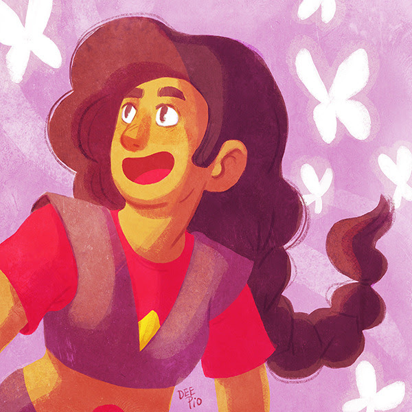 Flexibility, Love & Trust. For me, Stevonnie represents love and hope and i think we could all use a little bit of that right now.