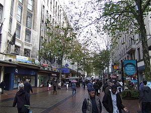 English: New Street, Birmingham One of the mai...