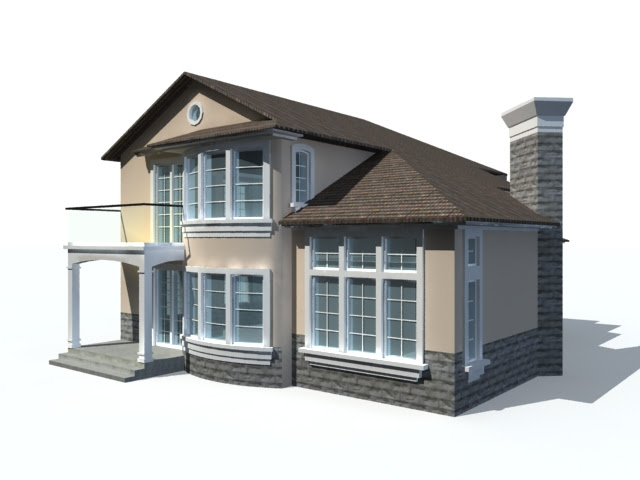 3d House Model Free