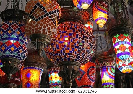 Handmade Turkish Lanterns For Sale Stock Photo 62931745 : Shutterstock