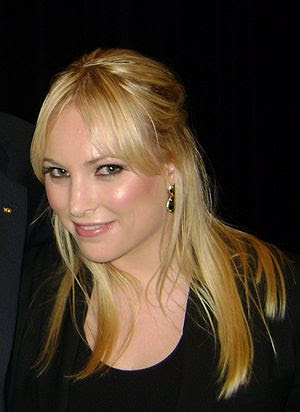 English: Meghan McCain at UC Berkeley.