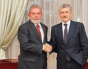 Lula e D'Alema (Ap)