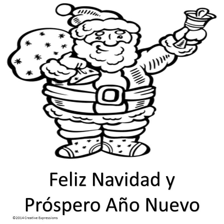 Spanish Christmas Coloring Pages at GetColorings.com ...