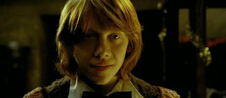 Ron in The Goblet of Fire
