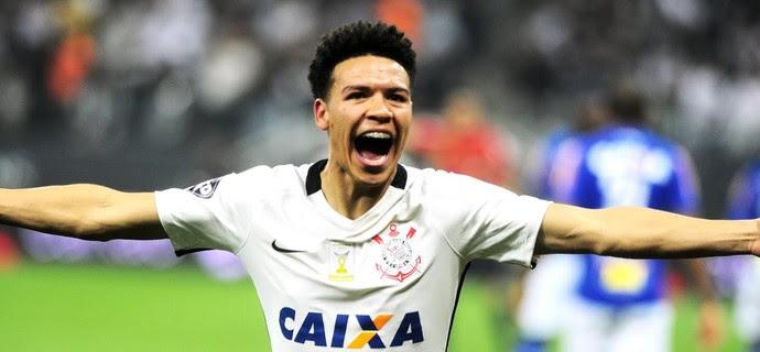 Corinthians x Cruzeiro - Marquinhos Gabriel (Foto: Marcos Ribolli)