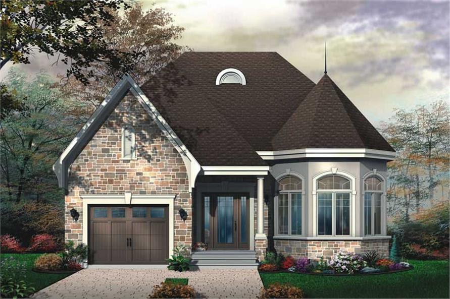Victorian, Bungalow, European House Plans - Home Design DD ...