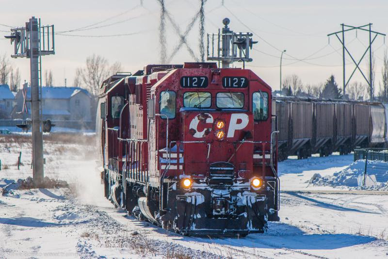 CP 1127 in Winnipeg