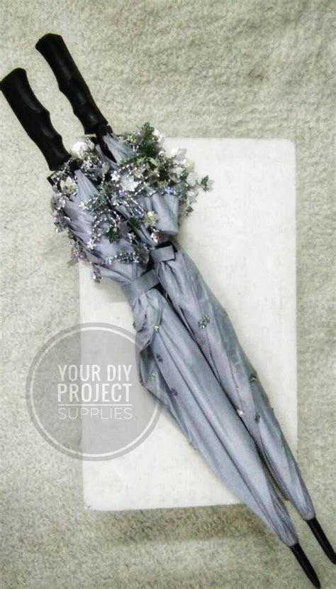 Payung Pengantin Putih Silver ? Your DIY Project Supplies