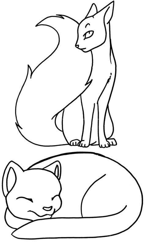 coloring pages cat  terasullen  deviantart