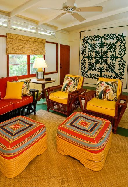 Hawaiian Cottage Style - Tropical - Family Room - hawaii ...