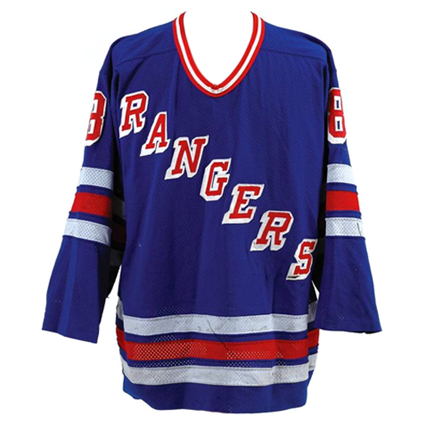 New York Rangers 89-90 jersey, New York Rangers 89-90 jersey