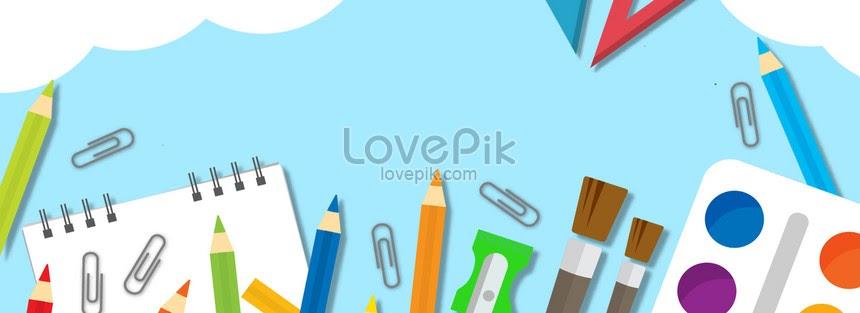 Contoh Desain Spanduk Atk - desain spanduk kreatif